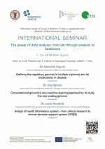 International seminar: The power of data analysis: from lab through analysis to databases